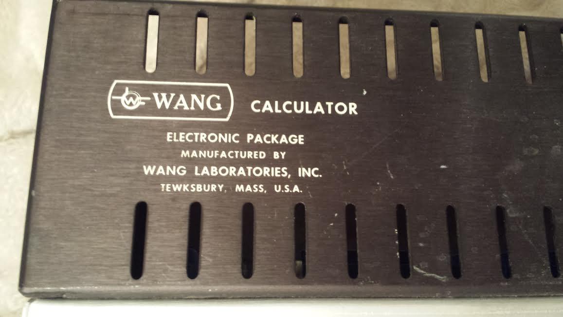 Wang Electronic Package 320E Model