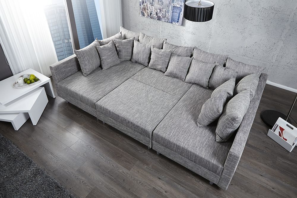canap d 39 angle modulable loft xxl gris duperr sofa moelleux partouze pinterest. Black Bedroom Furniture Sets. Home Design Ideas