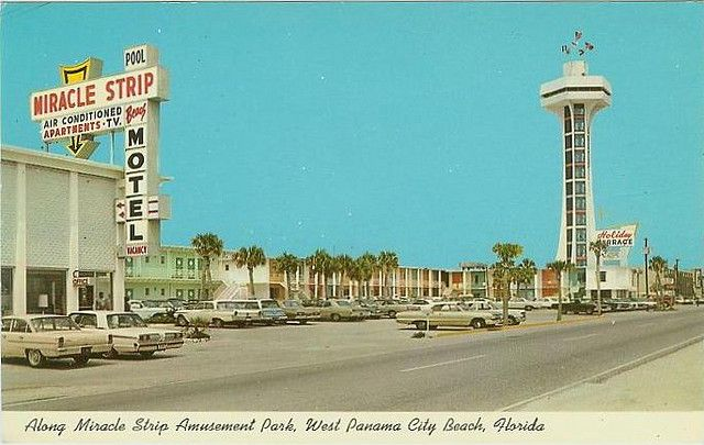 Miracle Strip Motel Top O The Tower Holiday Terrace On Front Beach