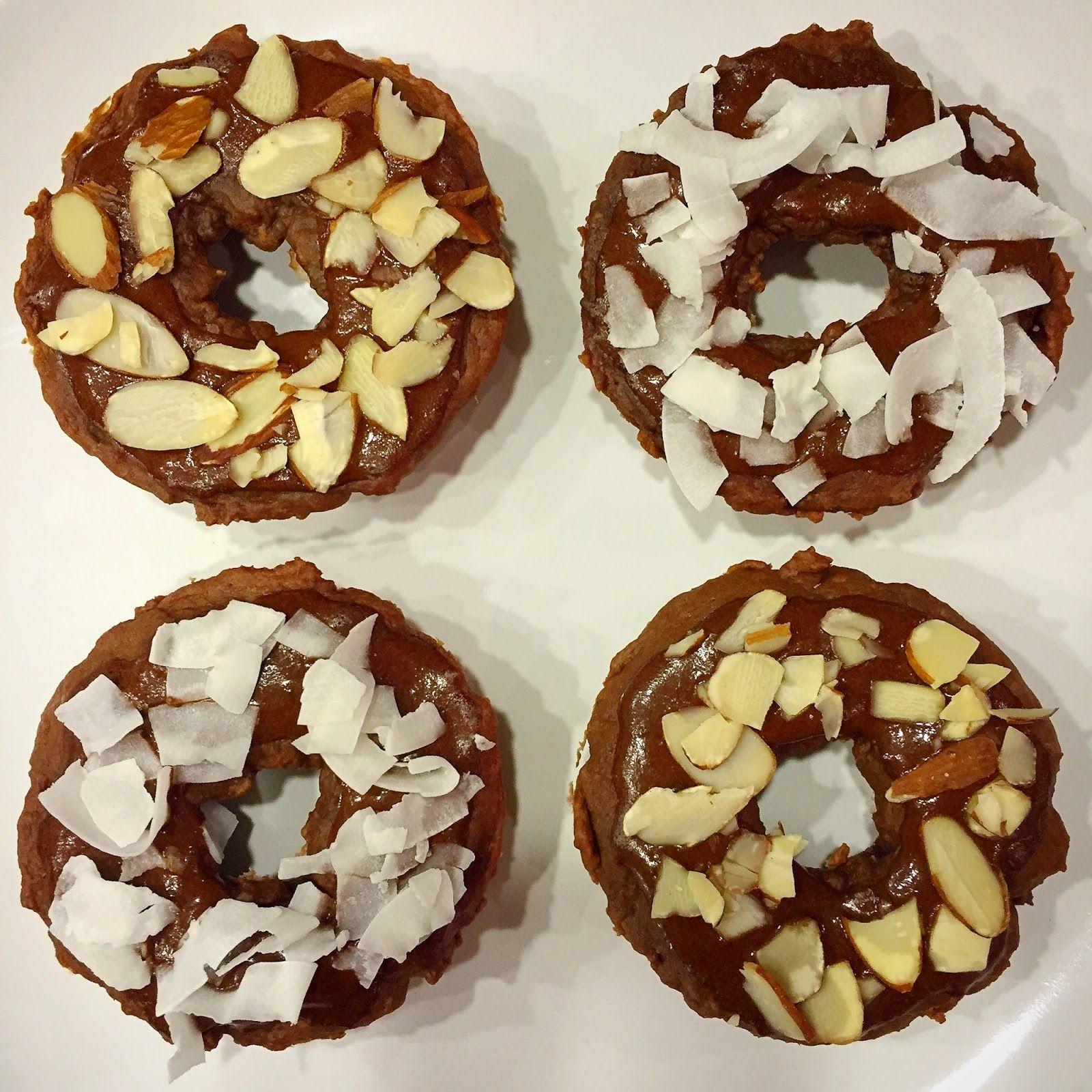 Vegan Chocolate Baked Donuts