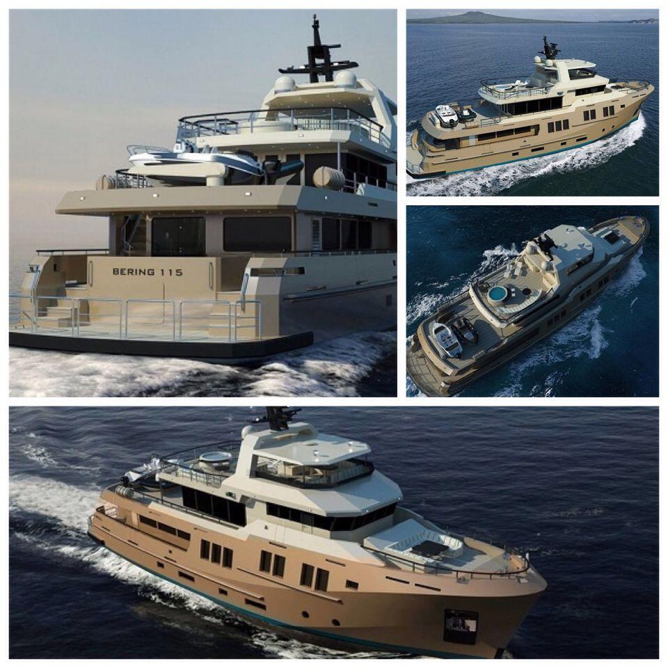 Bering Yachts'ın 35 metrelik projesi, Bering 115     #beringyachts #bering115 #sabdesdesign #süperyat #superyacht #tekne #boat #bot #deniz #sea #yachting #boating #luxury #luxuryyacht #yachtworld #motoryat #motoryacht #sealife #yatvitrini .. http://www.yatvitrini.com/bering-yachtsin-35-metrelik-projesi-bering-115?pageID=128