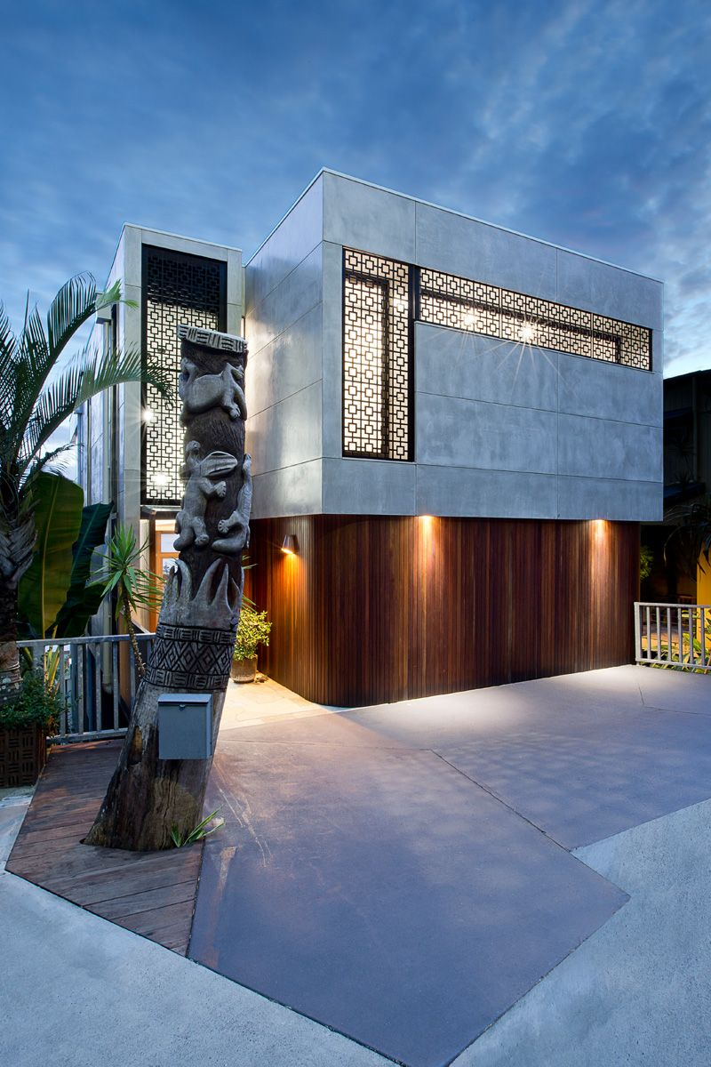 Old House Transforming into Modern Contemporary in ...
