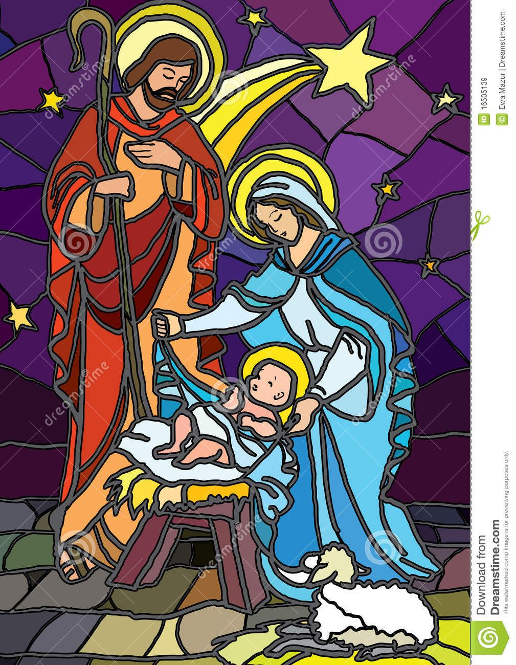 stained glass nativity - Bing images | Pesebres en repujado ...