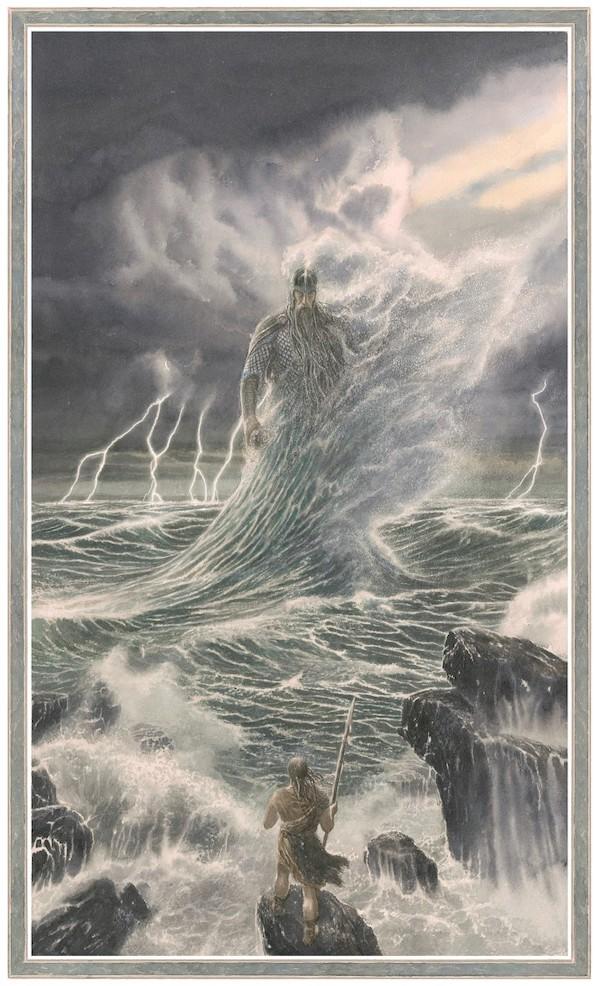 Alan Lee Illustrations From The Fall Of Gondolin Middle Earth Art Tolkien Artwork Tolkien Art