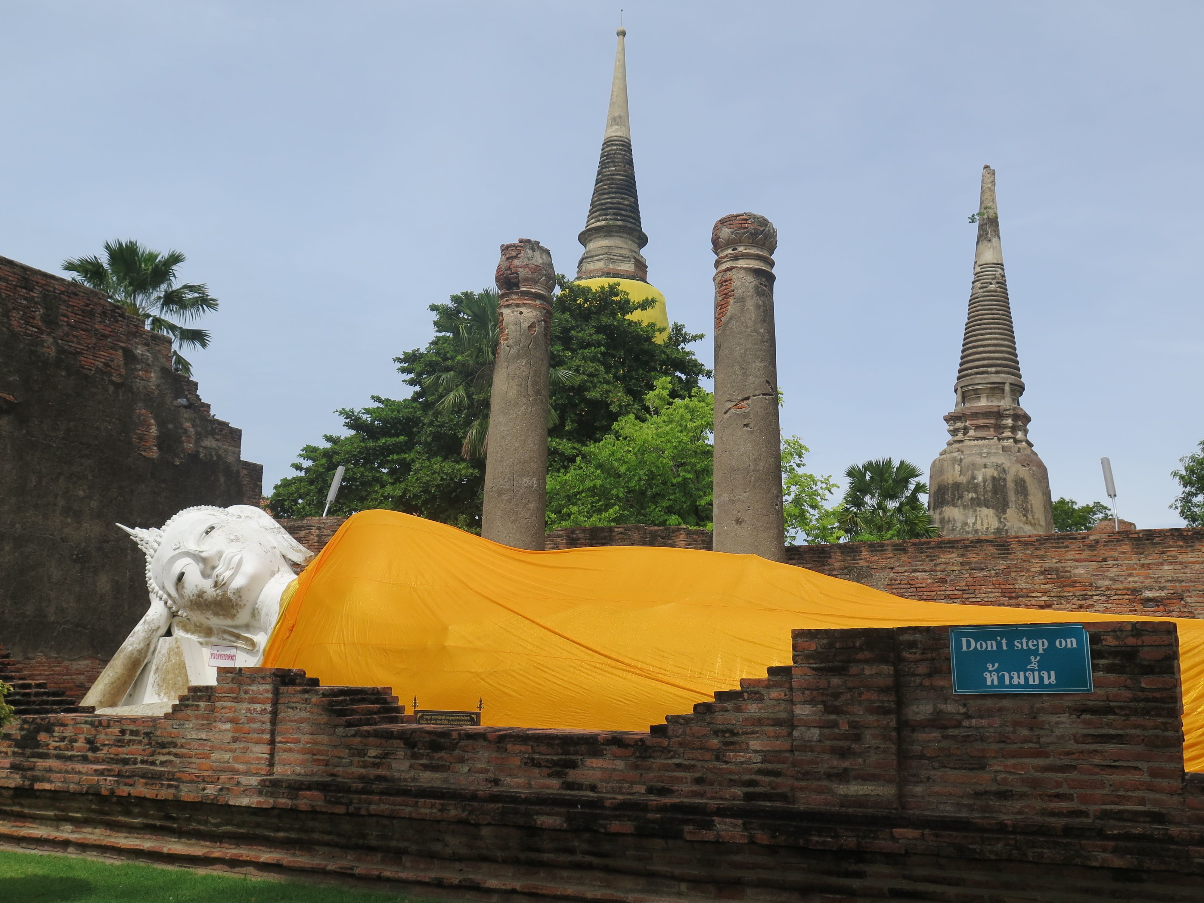 Wat Yai Chaya Mongkol - Ayutthaya