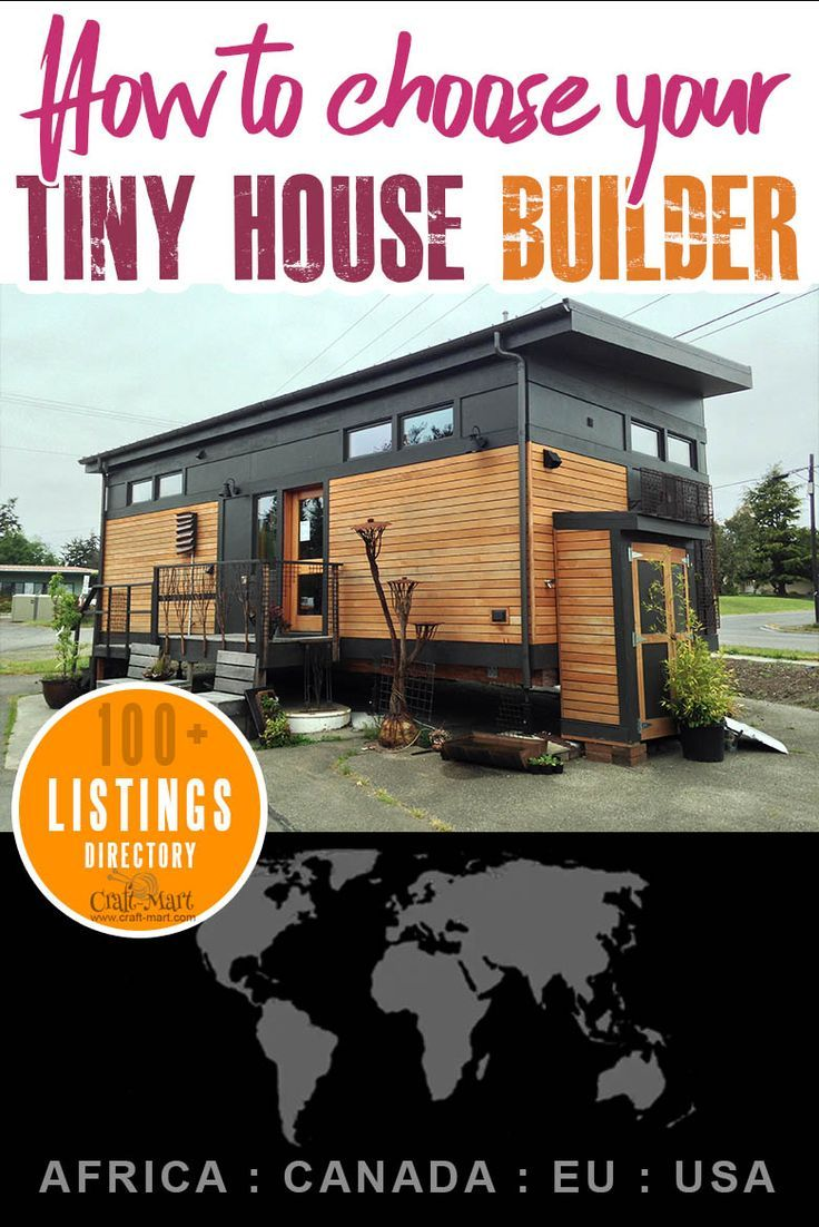 Tiny House Builders Directory Tiny House Builders Home
