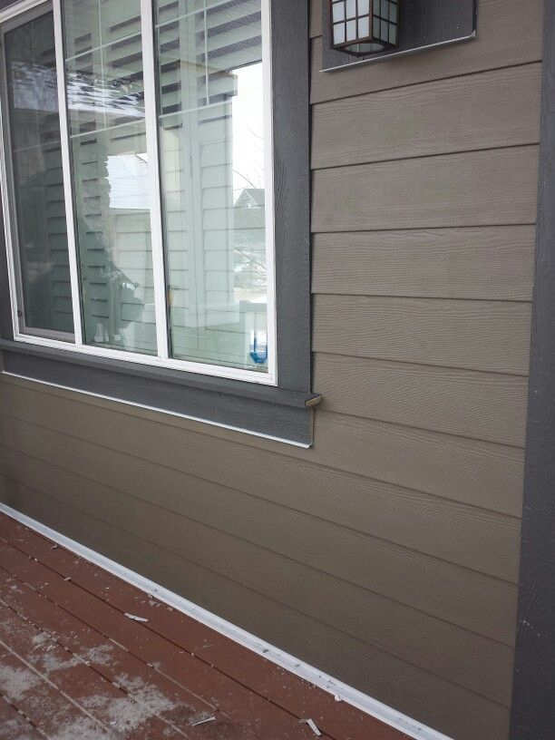Hardy Board Siding >> The Exterior Company Ltd - Timberbark Hardie siding with Behr Intellectual Grey Trims in 2019 ...