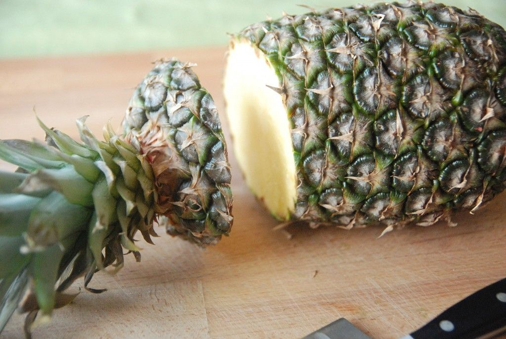 How to cut a pineapple (and then grill it)