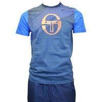 T-shirts manches courtes Sergio Tacchini Tee shirt homme  Aldo Bleu