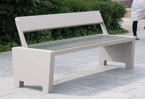 Benkert Bänke: Comfony 20 Bench with flip back rest   chapel ...