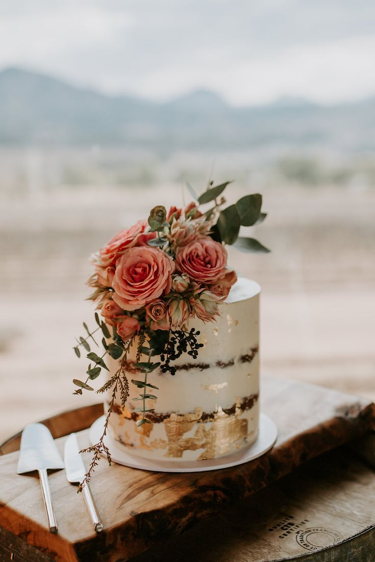 Scrumptious Naked Wedding Cakes