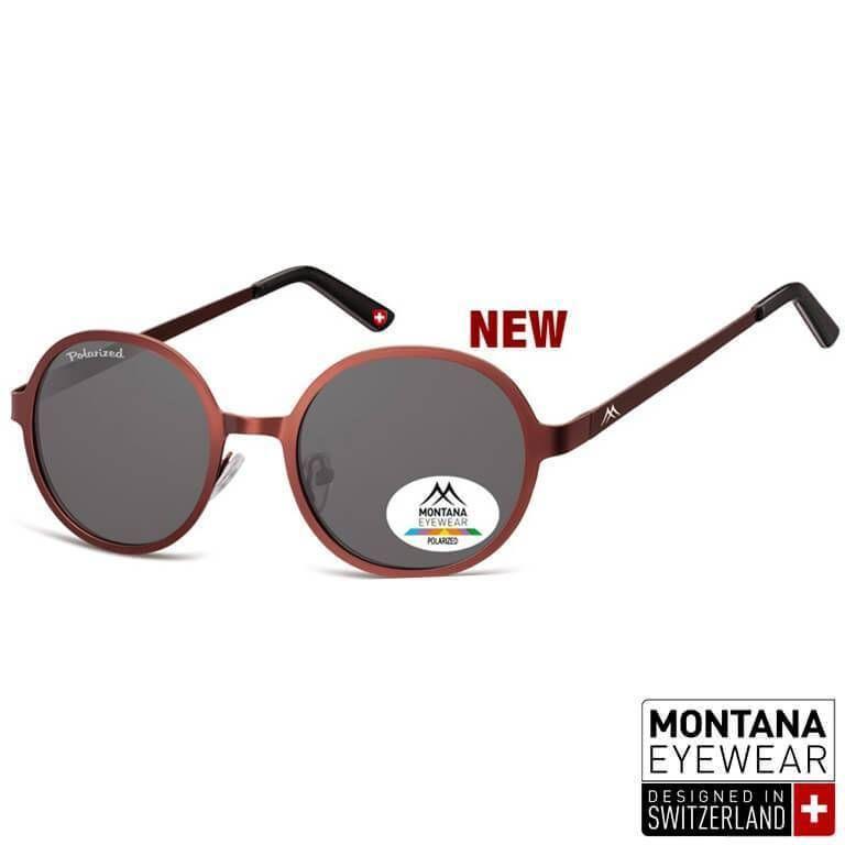 Στρογγυλά Γυαλιά Ηλίου Montana Polarized