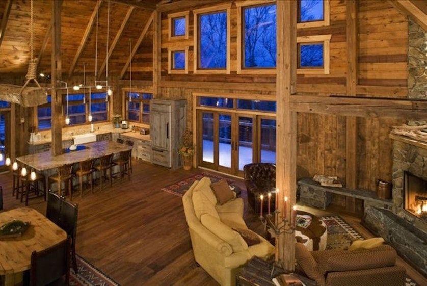 Barn vacation rental trend tasting table luxury barn