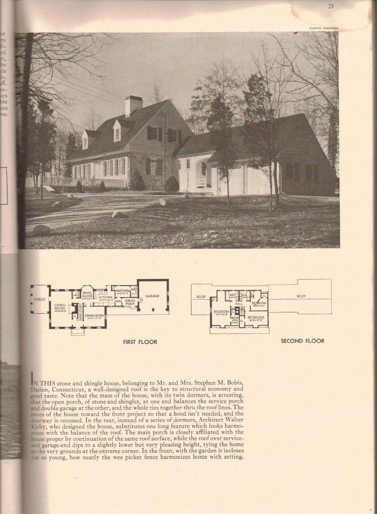 Craig Kamman Arrangement Floor Plans Vintage House Plans Colonial House Plans
