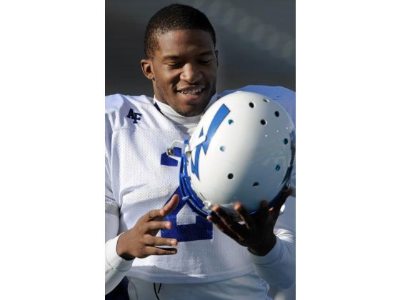 Stephan Atrice, Air Force Academy safety. Served LDS mission in Puerto Rico.