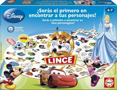 Juego Lince Disney Educa Juegos De Tablero Juegos Disney