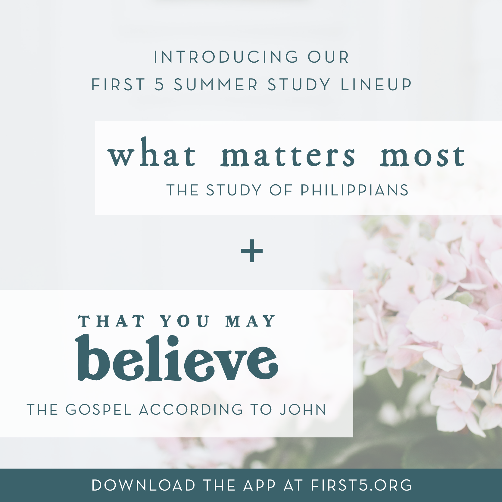 Download the First 5 app for FREE today at