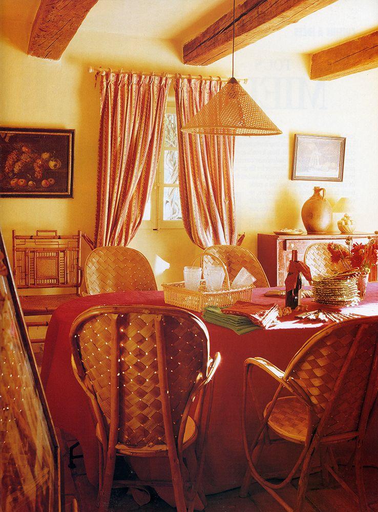 BOSC ARCHITECTES - Alpilles - Mas en Provence - Salle à manger - salle a manger louis