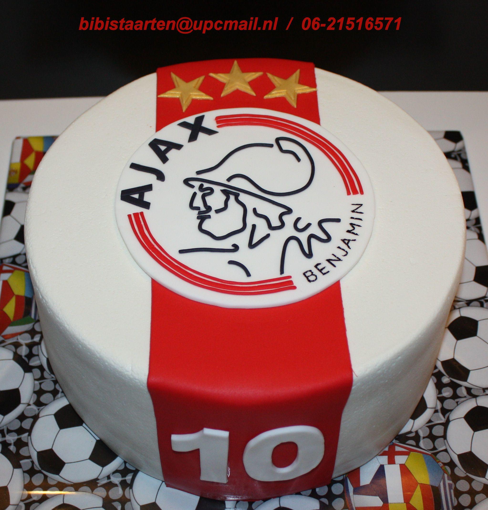 Extreem Ajax Taart / Ajax cake | torty in 2019 - Soccer cake, Birthday &RX93