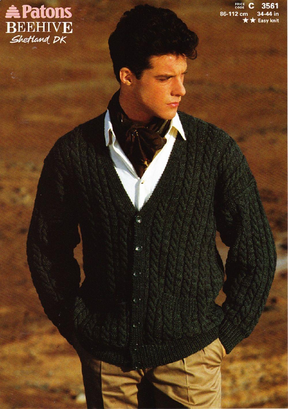 Patons knitting pattern 3561 dk mans v neck cardigan things i patons knitting pattern 3561 dk mans v neck cardigan bankloansurffo Gallery