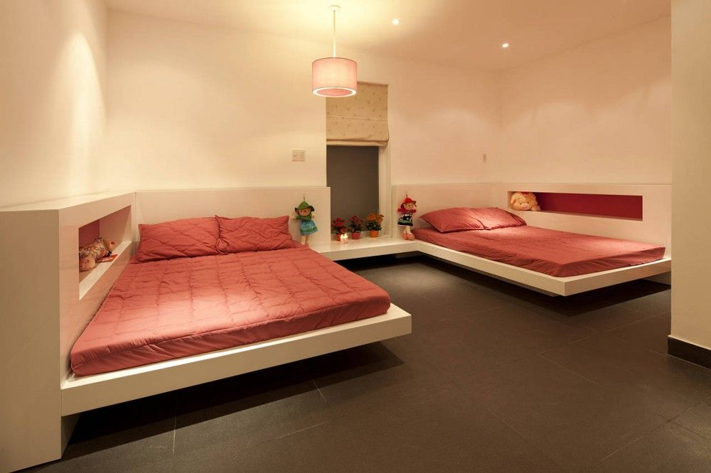 House In Go Vap / MM++ Architects. Shared Kids BedroomsKid ...