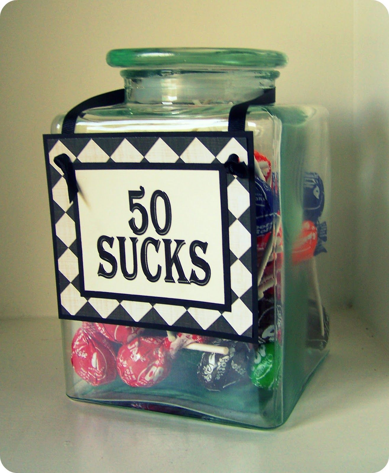 Thursday This and That... 50th birthday party gifts