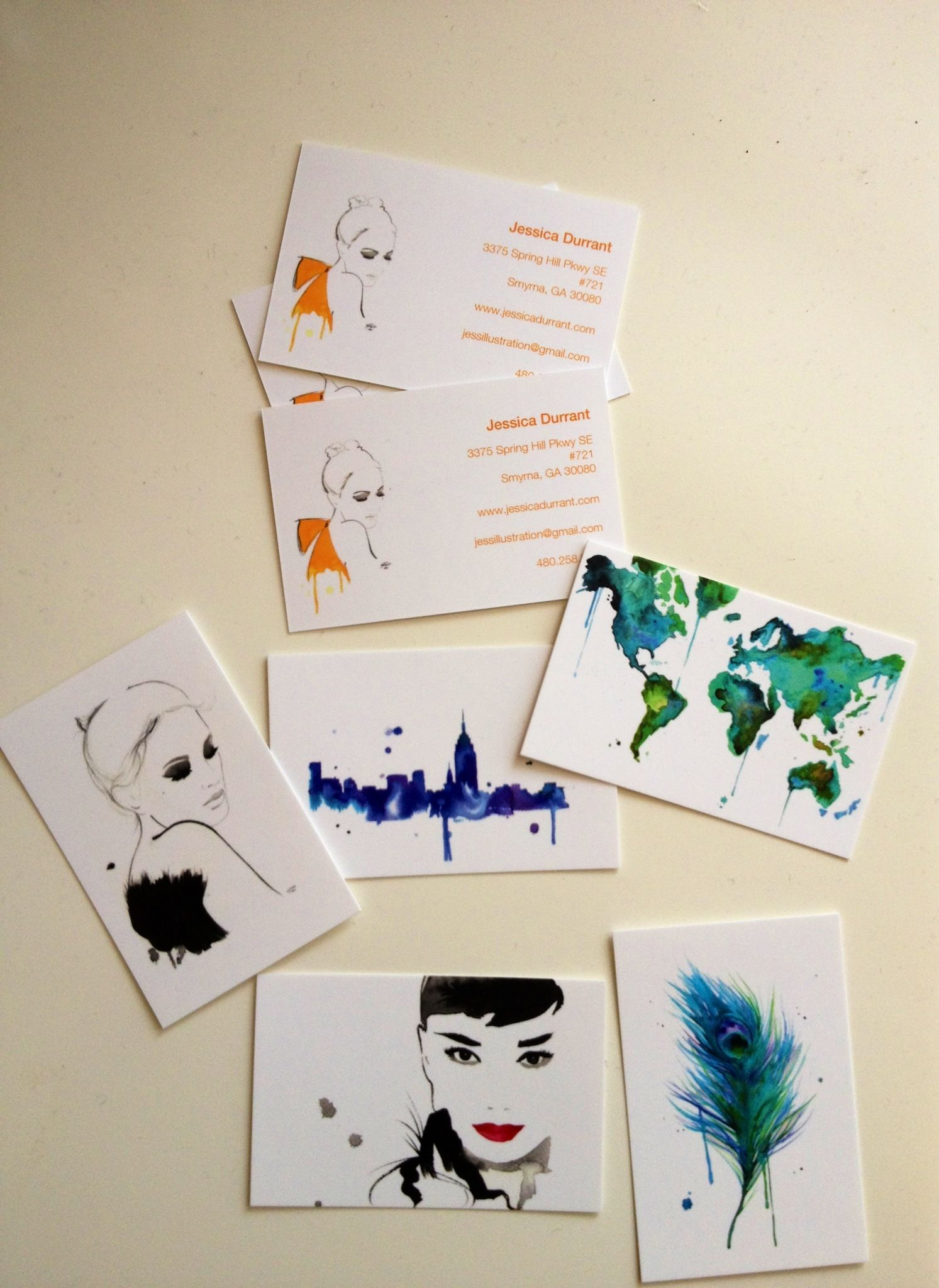 Got ink business cards arts arts got my new business cards from moo today each one has a colourmoves