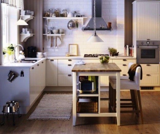 Atractivo Carros De Cocina Isla Con Asientos Composición - Ideas de ...