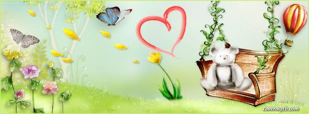 Cute Garden Facebook Cover Photo QuotesCover WallpaperCover
