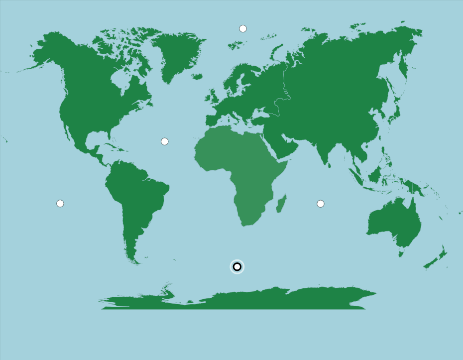 World: Continents and Oceans - Map Quiz Game | World ...