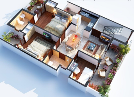 Icymi Design Of 1000 Sq Ft House Rumah