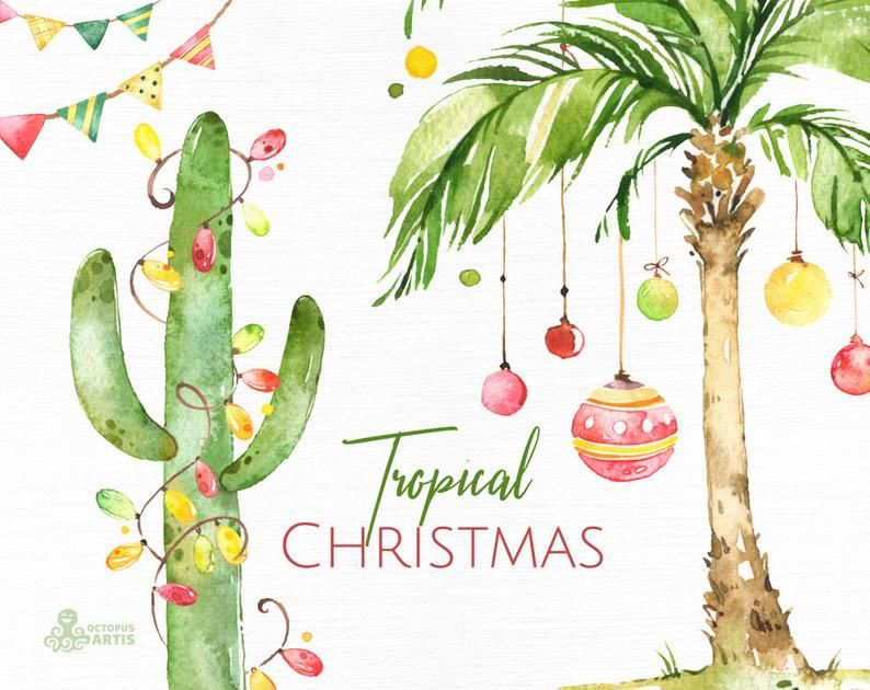 watercolor illustration Map postcard watercolor Christmas list Christmas party occasion mouse paper 300g thick
