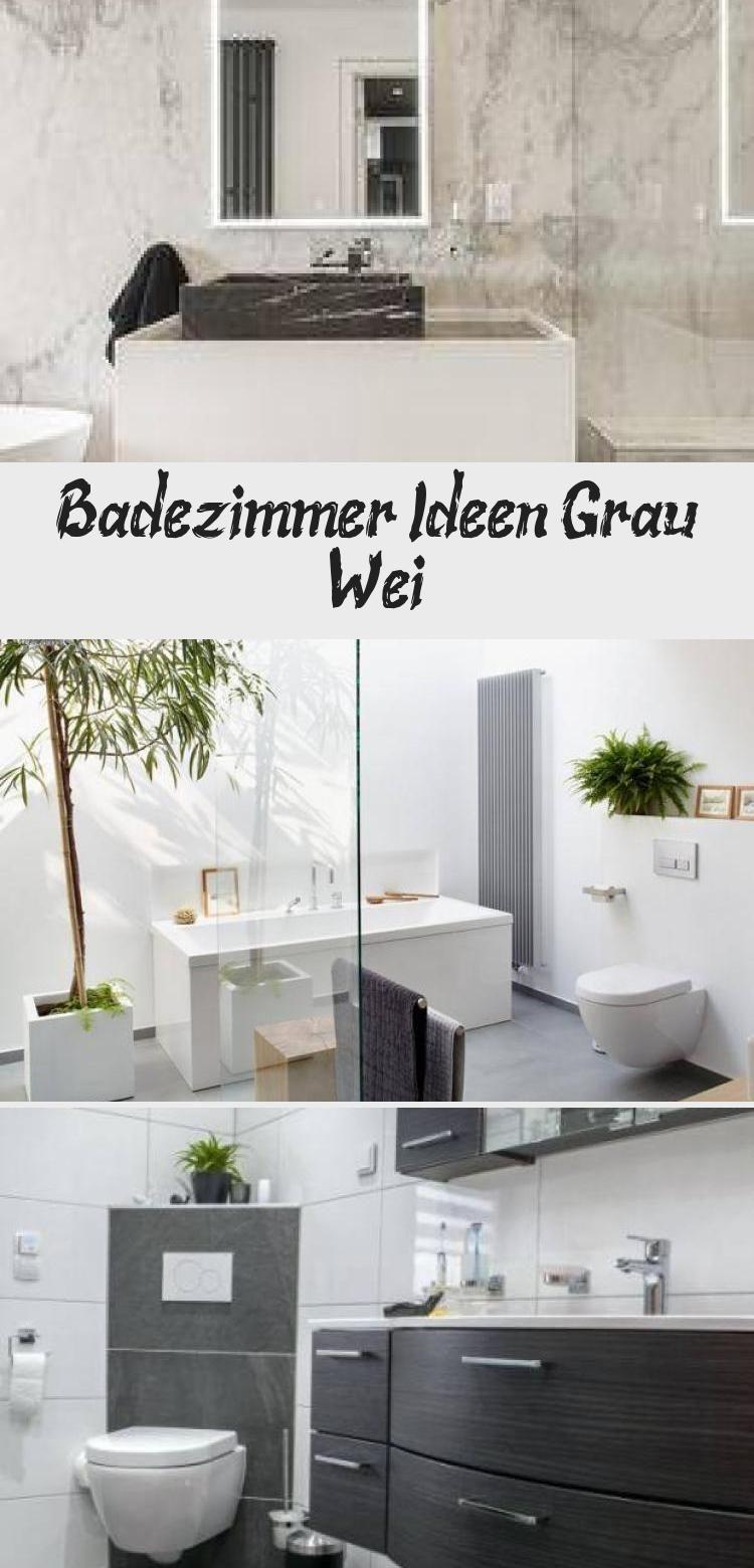Badezimmer Ideen Grau Weiß #dunklewände