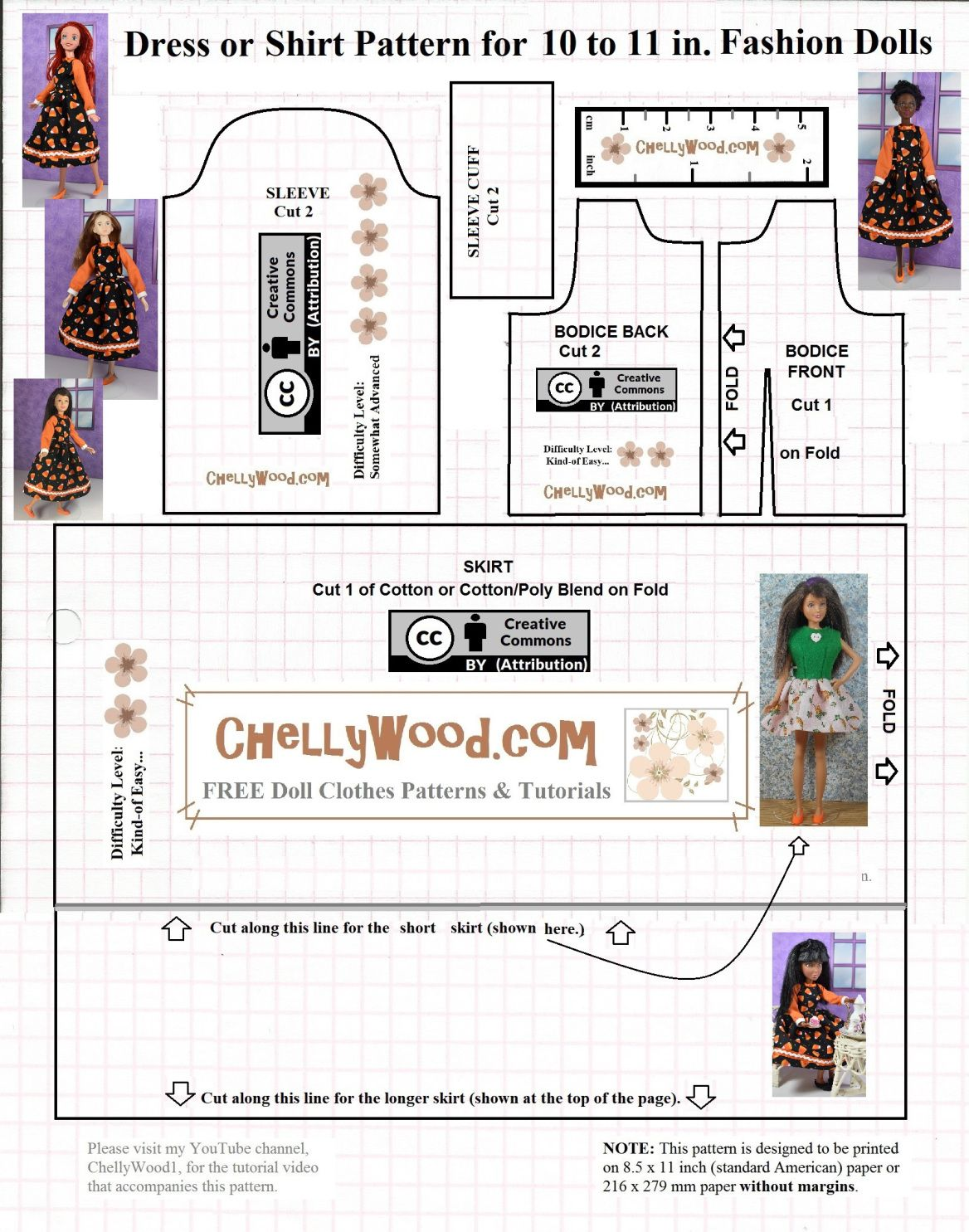 Please visit chellywood for free printable sewing patterns please visit chellywood for free printable sewing patterns for dolls of many shapes jeuxipadfo Gallery