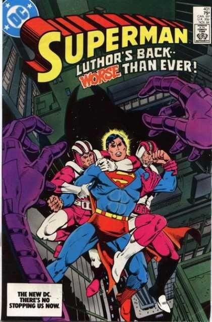 Luthors Back - Superman - Worse Than Ever - Purple Hands - The New Dc - Eduardo Barreto