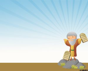 Ten Commandments PowerPoint template - this is a very good ...