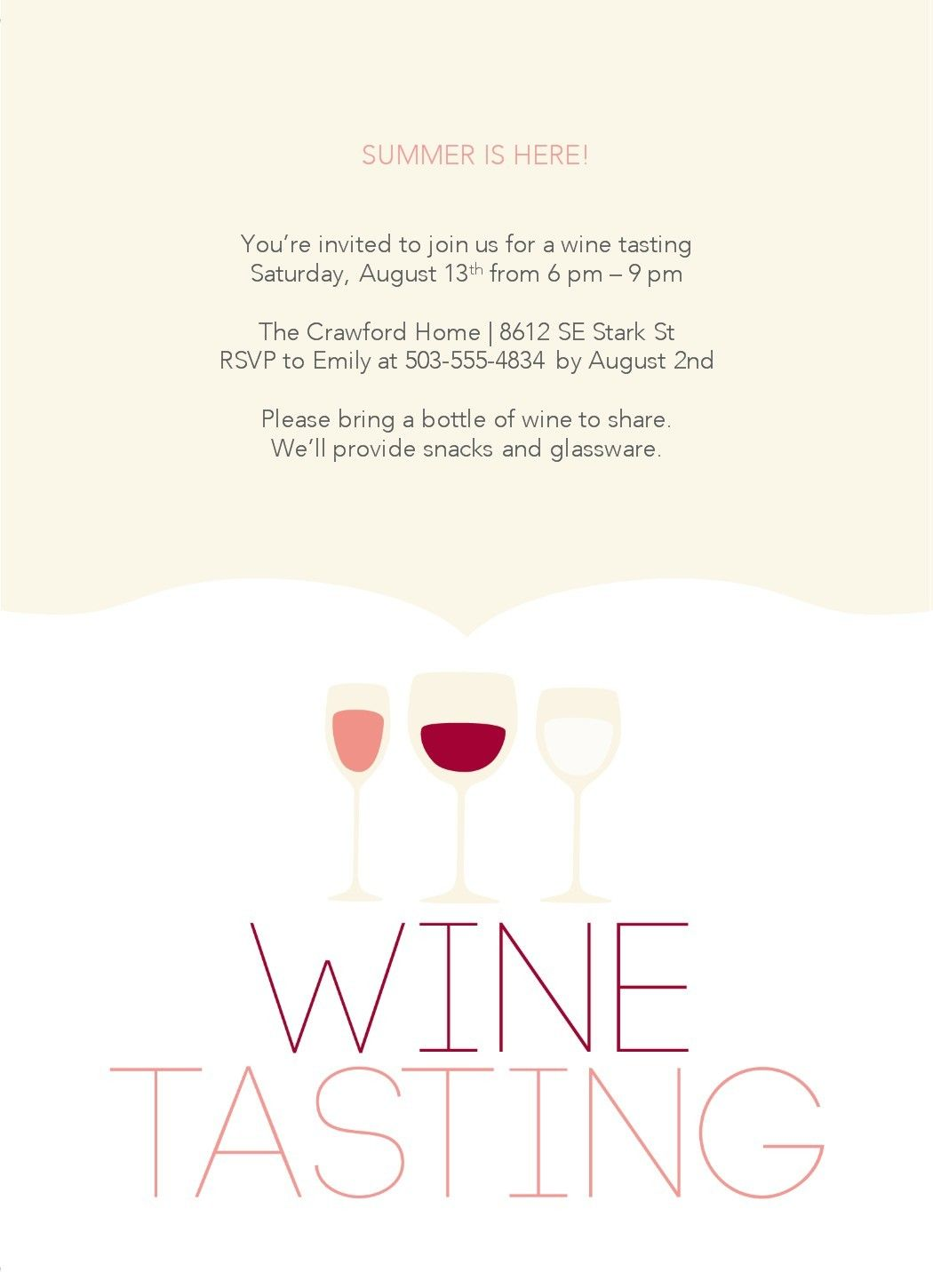 Wine Tasting Party Template Wine Tasting Invitations Free Party