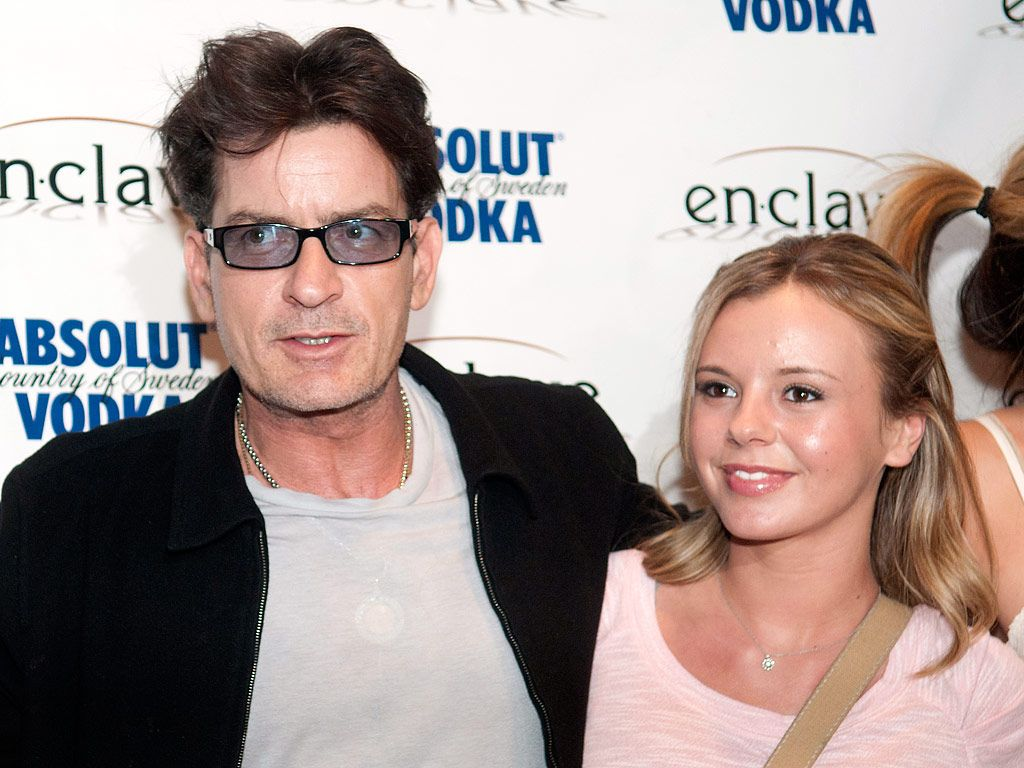 Who is charlie sheen dating in Melbourne