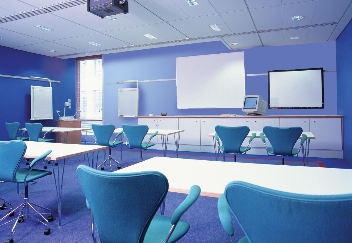 Corporate training room google search corporate for Training room design ideas
