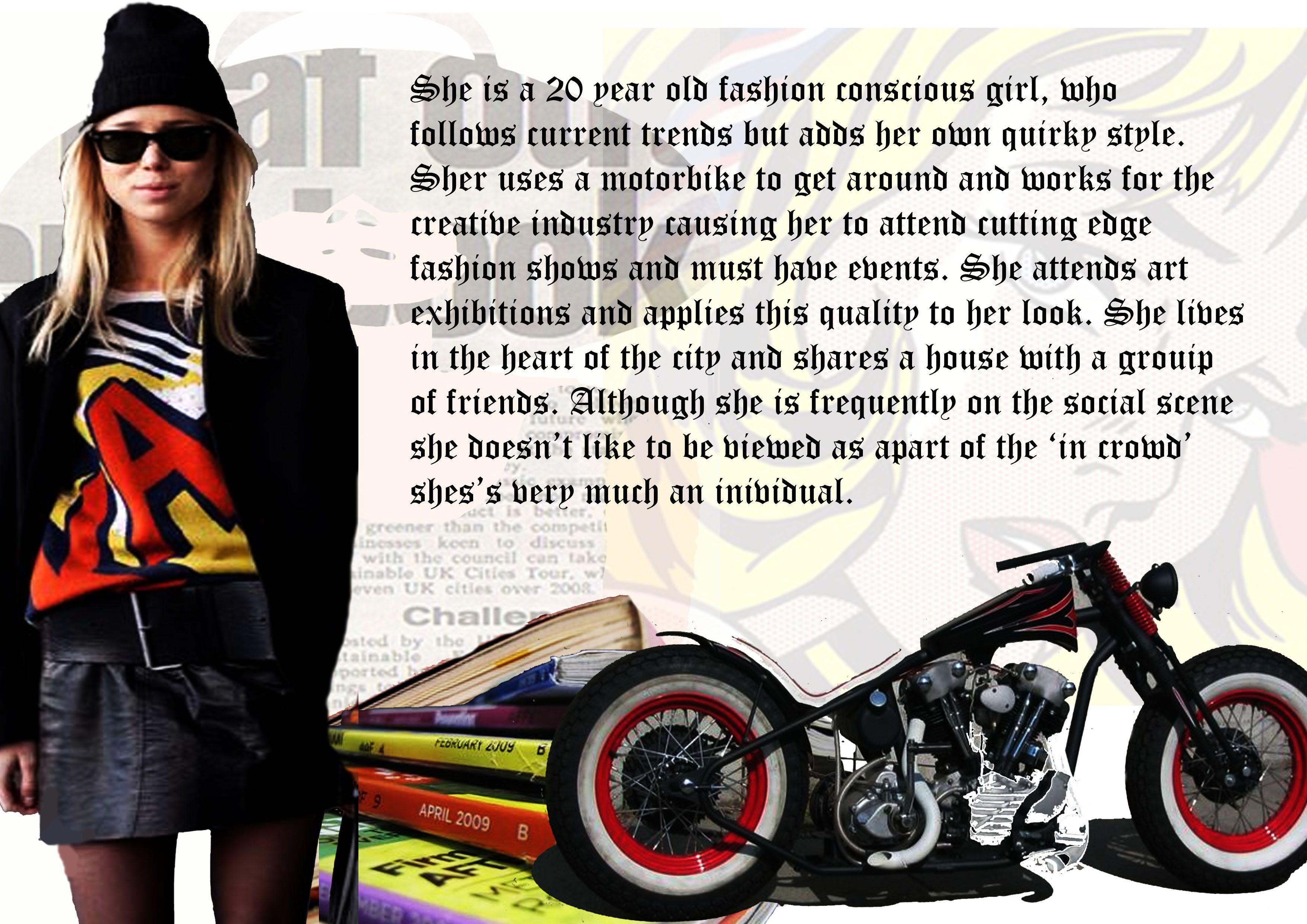 Consumer Profile The Marketing Side To Fashion  Profile Art