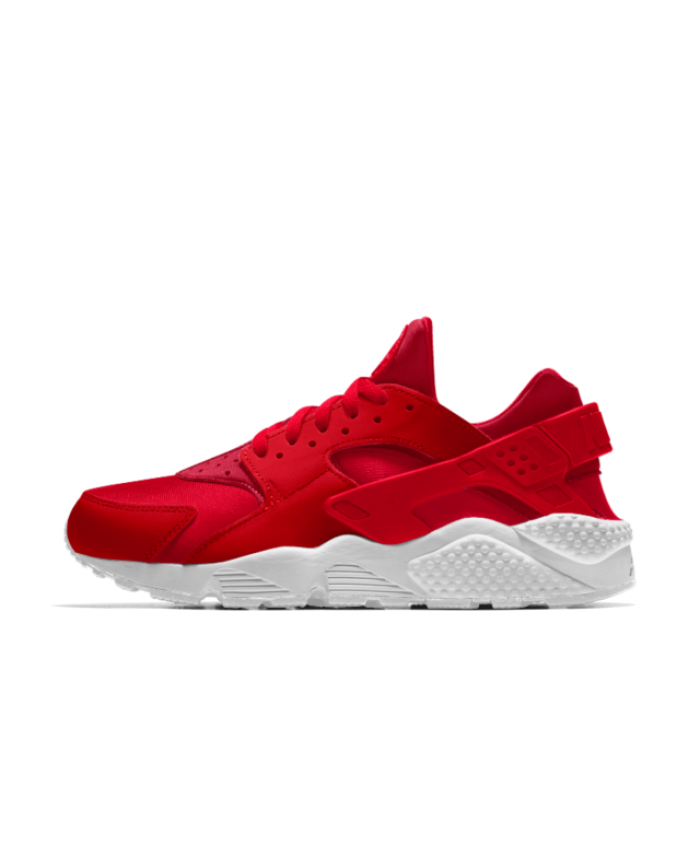 brand new d7944 f1ac5 Nike Air Huarache Essential iD University Red White Shoes Very comfortable,  stylish and light combined, free shipping.