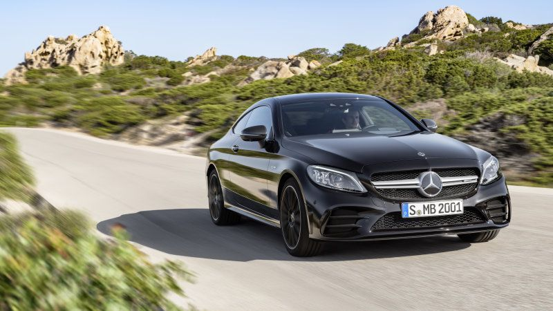 2019 Mercedes Benz C 300 And C 43 Coupe And Cabriolet Get A Big Tech Bump Mercedes C Class Coupe Benz C Mercedes Amg