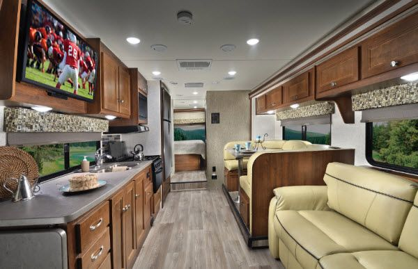 Inside 2012 Sunseeker 3170ds Motor Home Class C With Images