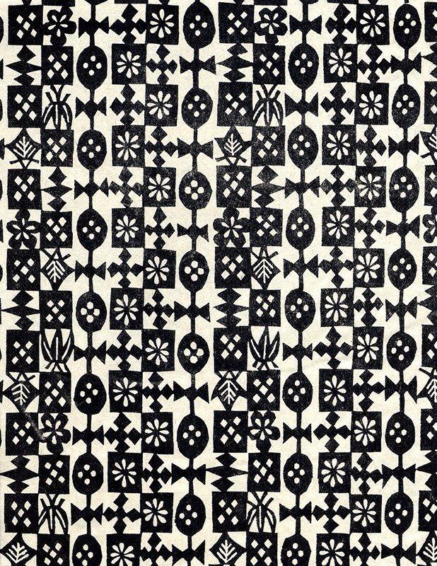 Tasche Patternatic Japanese Katazome Pattern Monogram Geometric Pattern Design Pattern Art Pattern