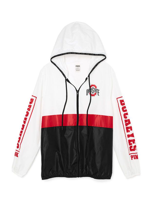 b696bd989e9 Ohio State University Anorak Full-Zip - PINK - Victoria's Secret ...