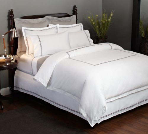 Pinzon Hotel Sch 400 Thread Count Egyptian Cotton Sa Full Queen Duvet Cover