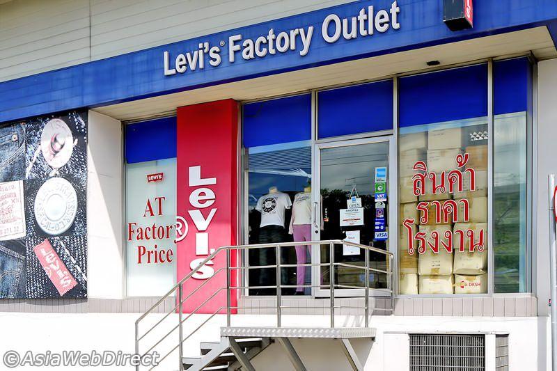 10091f8320 Levi's Factory Outlet | Bangkok 2016 | Bangkok, Outlets, Shopping
