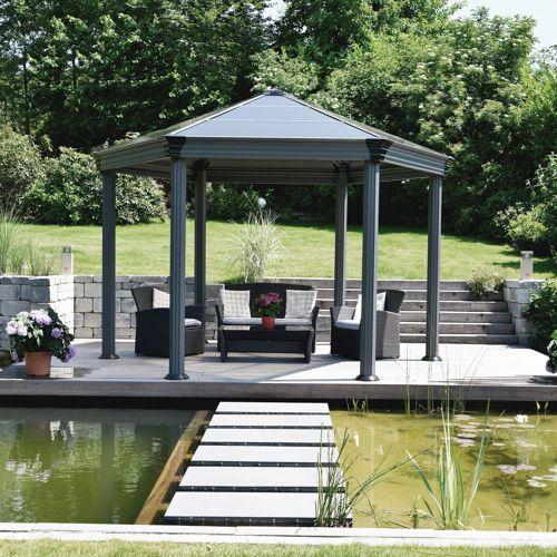 Palram Roma Garden Gazebo   Kiosque jardin, Belvédère et Pergola