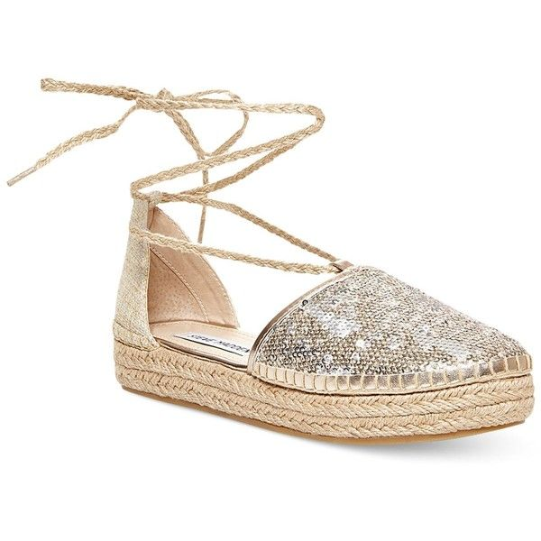 Steve Madden Tieup Lace-Up Espadrille