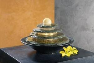 Seliger Tao Feng Shui Schieferbrunnen Zimmerbrunnen 20031